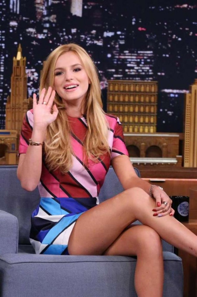 Bella Thorne – 'The Tonight Show Starring Jimmy Fallon' in NYC