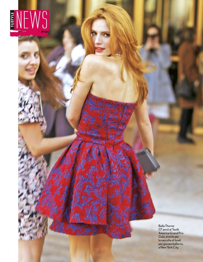 Bella Thorne - TuStyle Magazine (May 2015)