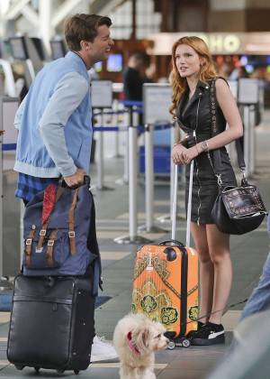 Bella Thorne in Short Dress -01
