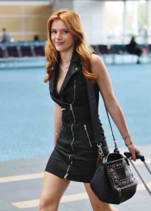 Bella Thorne in Short Dress -07