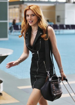 Bella Thorne in Short Dress -11