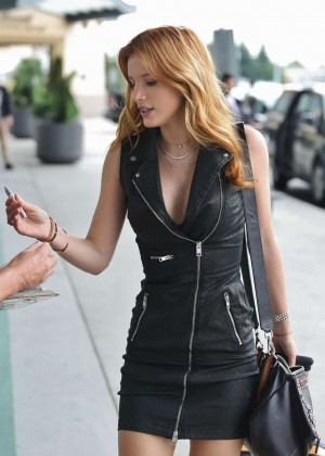 Bella Thorne in Short Dress -19