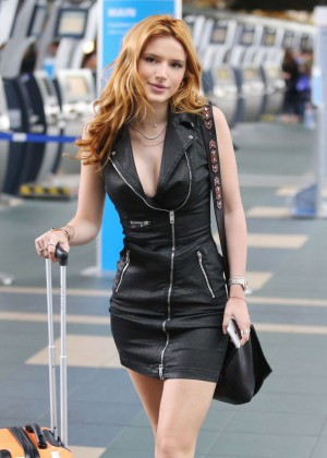 Bella Thorne in Short Dress -24