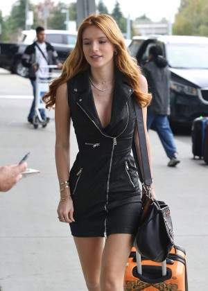 Bella Thorne in Short Dress -27