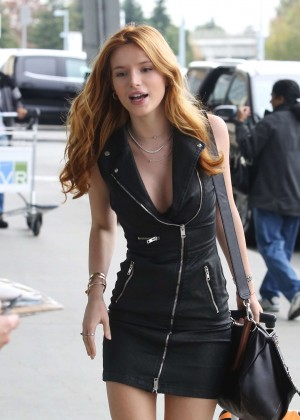 Bella Thorne in Short Dress -28