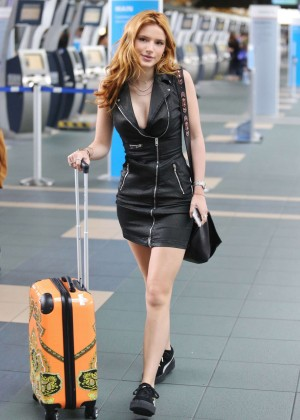 Bella Thorne in Short Dress -34