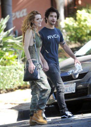 Bella Thorne With Boyf... Rihanna Boyfriend