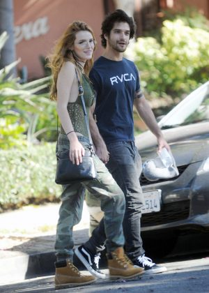 Bella Thorne With Boyf...