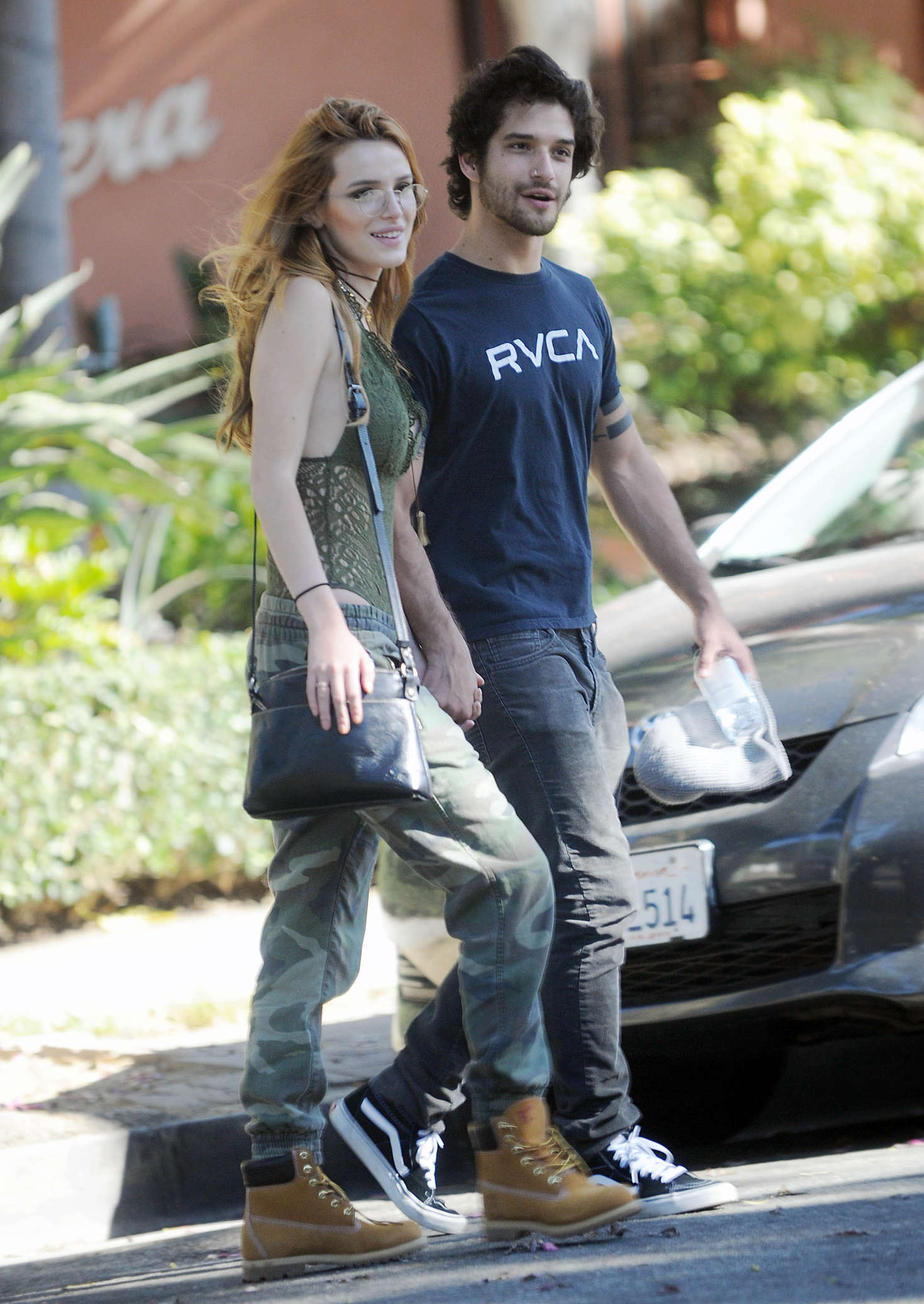 Bella Thorne With Boyfriend Out in West Hollywood -12