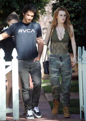 Bella Thorne With Boyfriend Out in West Hollywood