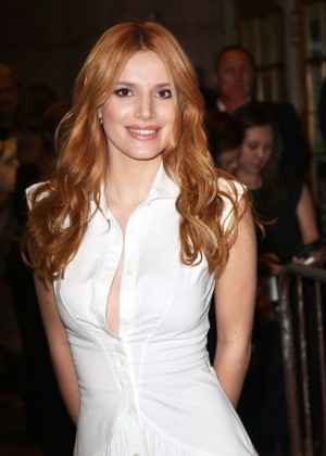 Bella Thorne - Zac Posen Fashion Show Spring 2016 NYFW in NYC