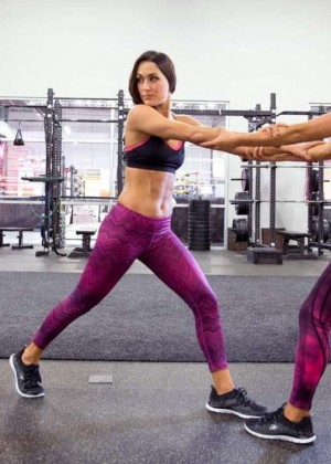 Bella Twins: Muscle and Fitness Hers 2015 (Behind the Scenes) -07