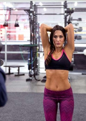 Bella Twins: Muscle and Fitness Hers 2015 (Behind the Scenes) -13