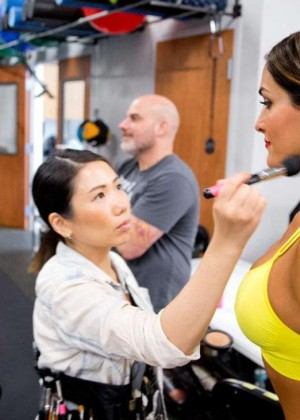 Bella Twins: Muscle and Fitness Hers 2015 (Behind the Scenes) -20