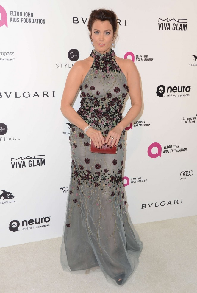 Bellamy Young – 2016 Elton John AIDS Foundation's Oscar Viewing Party in West Hollywood