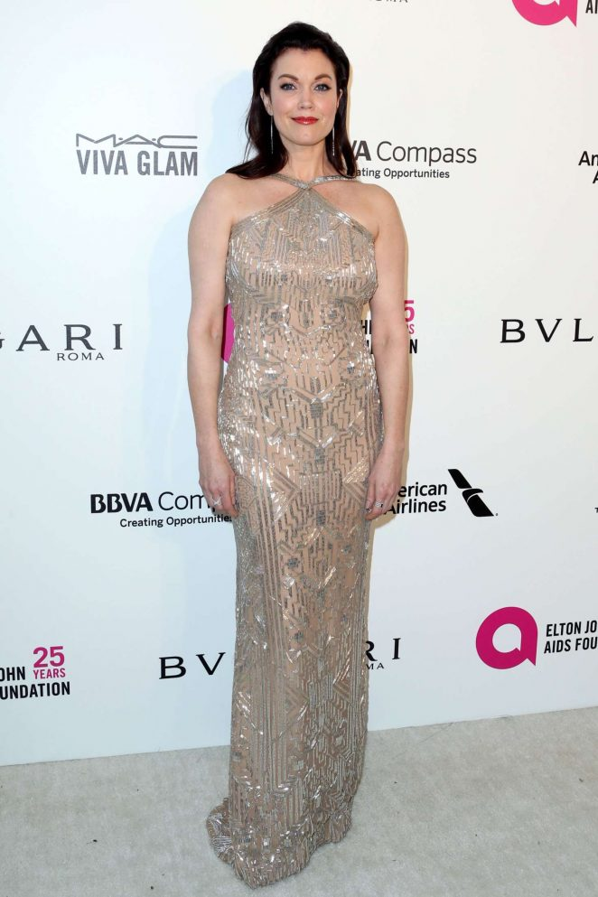 Bellamy Young - 2018 Elton John AIDS Foundation's Oscar Viewing Party in West Hollywood