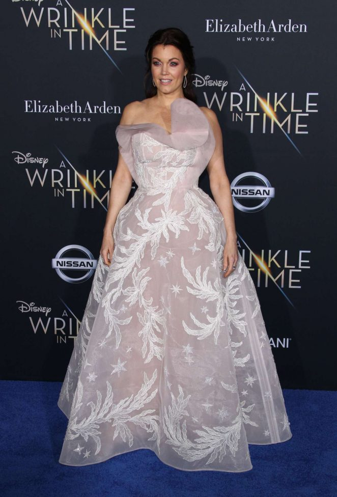 Bellamy Young - 'A Wrinkle in Time' Premiere in Los Angeles