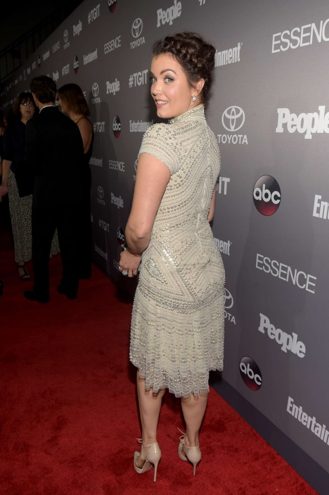 Bellamy Young: ABCs TGIT line-up Celebration -14