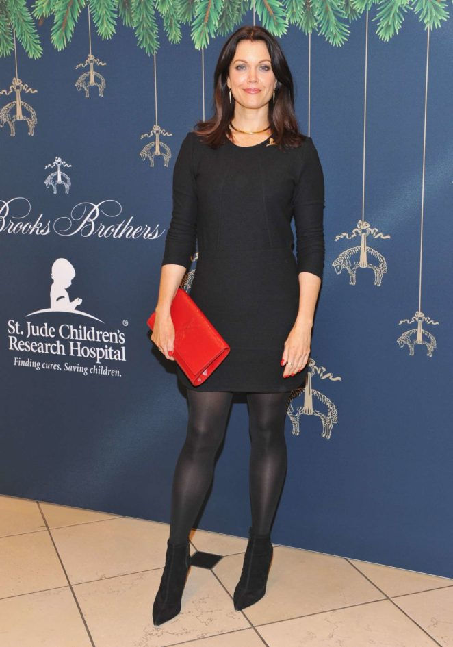 Bellamy Young - Brooks Brothers Holiday Celebration in Beverly Hills