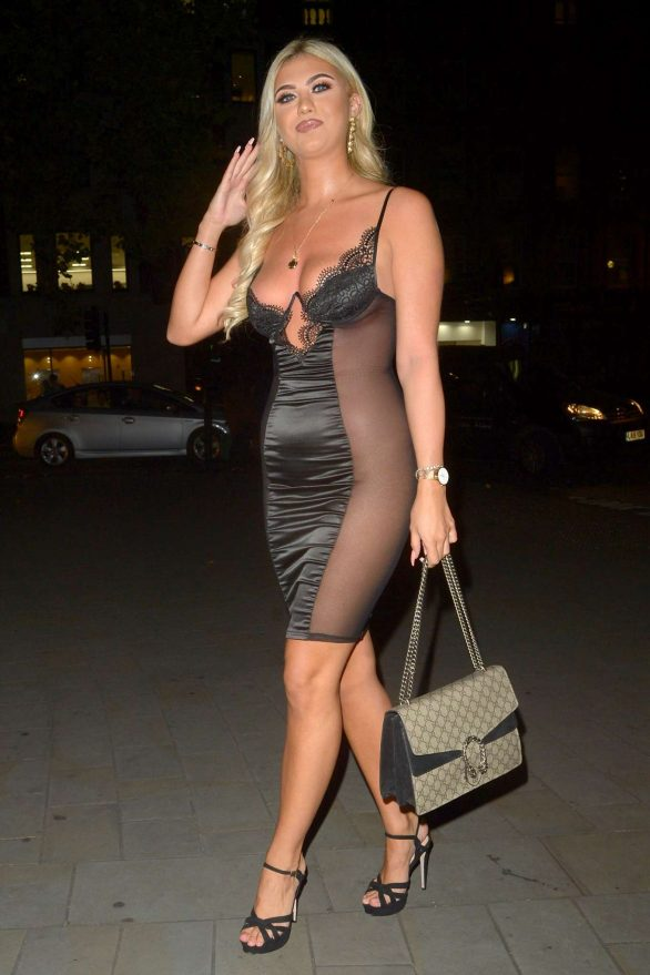 Belle Hassan - Attends the Lipstick and Champagne Party in London