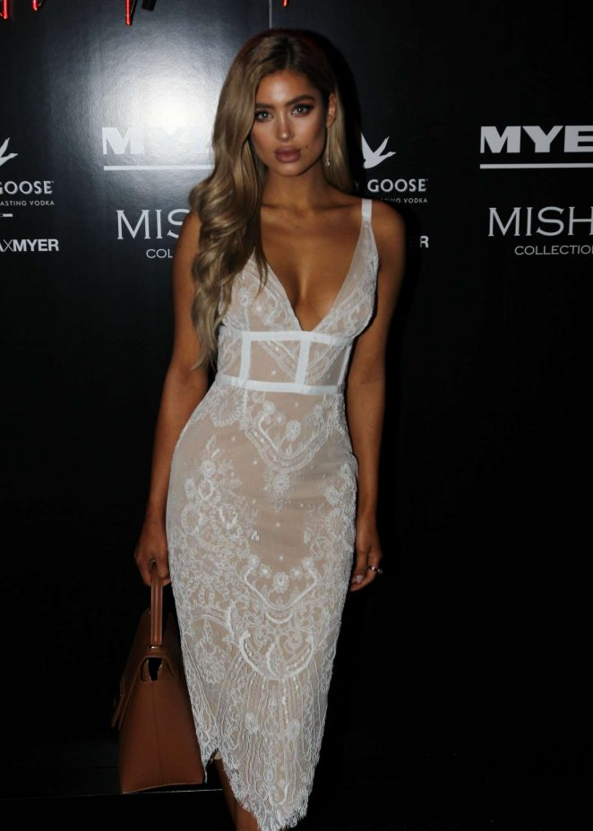 Belle Lucia - Misha x Myer Party in Sydney