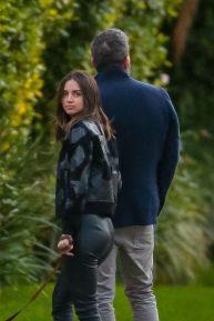 Ben Affleck and Ana de Armas - Romantic Stroll in Los Angeles