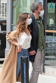 Ben Affleck and Ana de Armas - Shopping candids in Los Angeles
