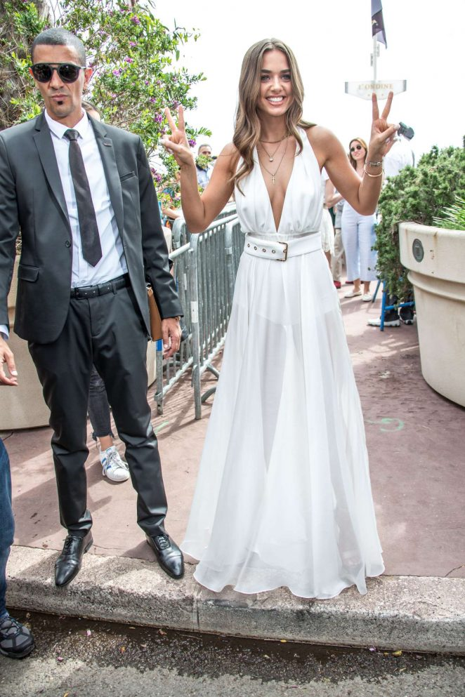 Bensu Soral out in Cannes