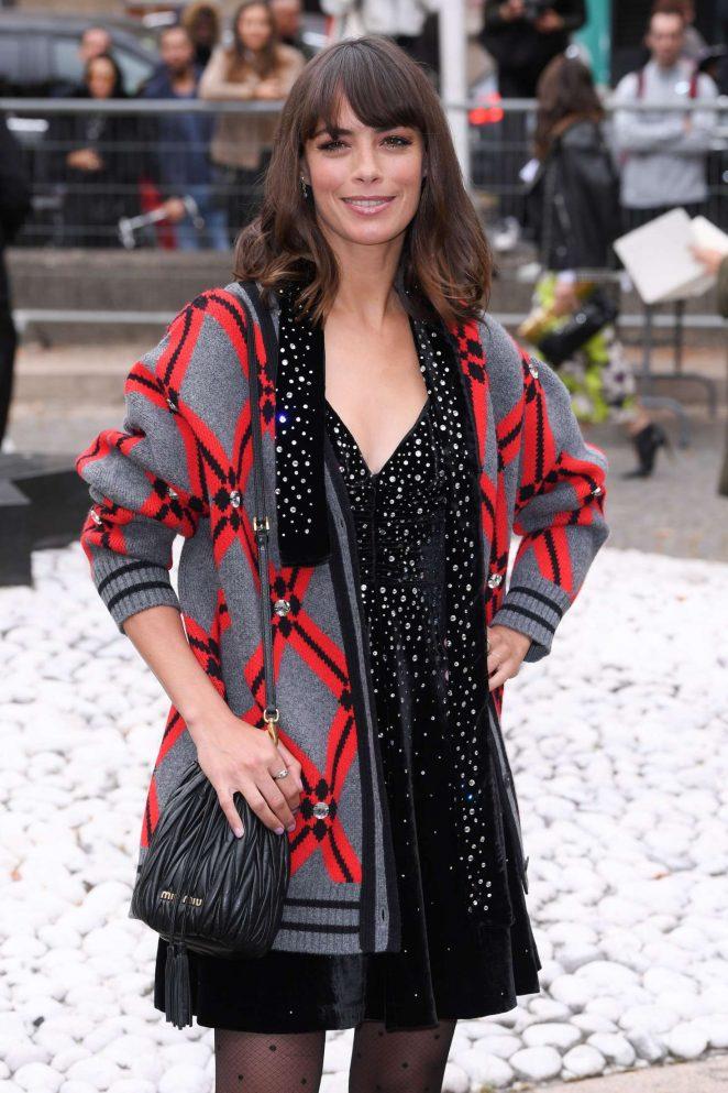 Berenice Bejo - Arrives at Miu Miu Fashion Show in Paris