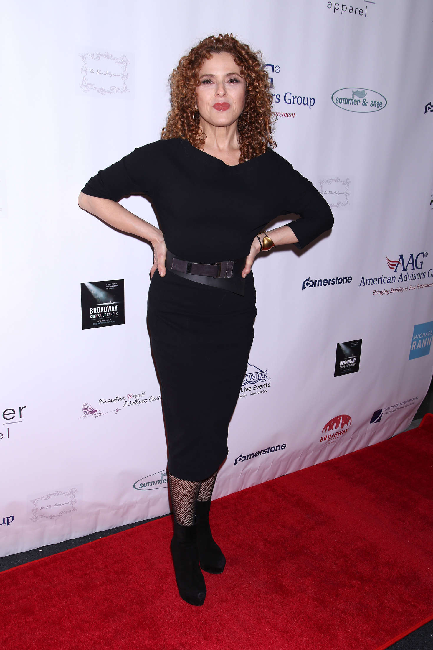 Bernadette Peters: Broadway Sniffs Out Cancer Benefit -01 ...