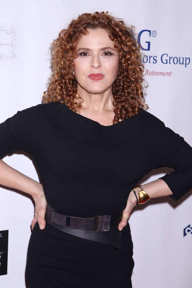 Bernadette Peters - Broadway Sniffs Out Cancer Benefit in New York