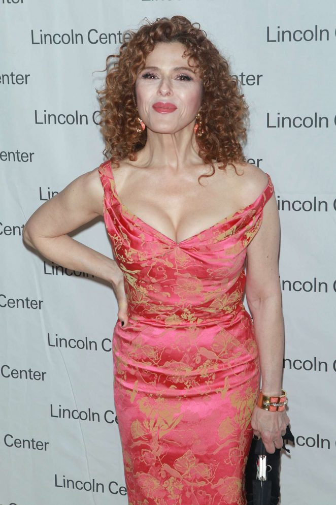 Bernadette Peters - Lincoln Center's Mostly Mozart Opening Night Gala in NY