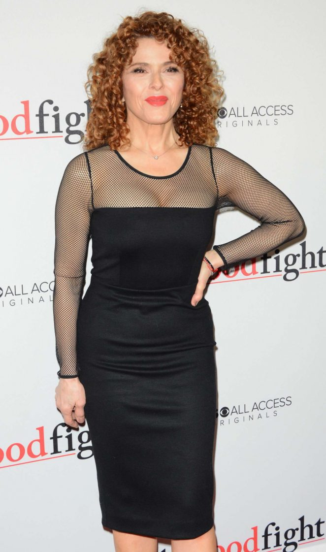 Bernadette Peters - 'The Good Fight' Premiere in New York City