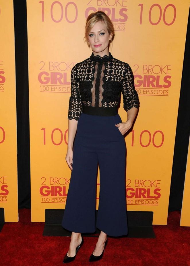 Beth Behrs - '2 Broke Girls' 100th Episode Celebration in LA