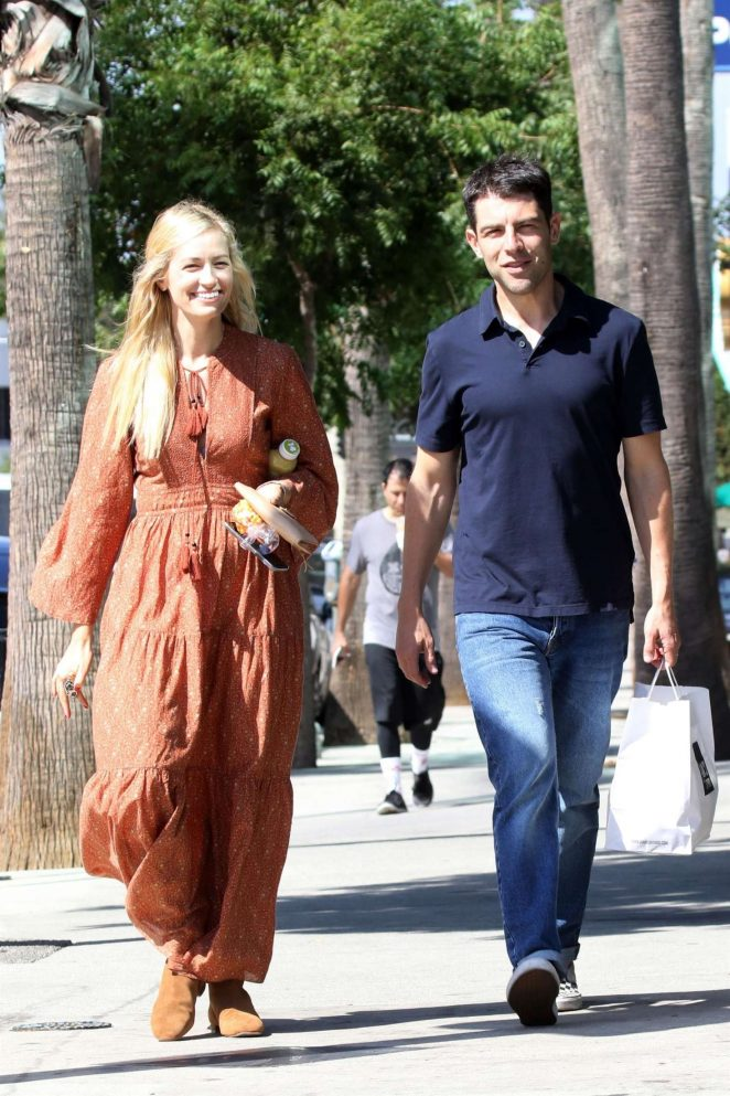 Beth Behrs at Joan's on Third in Studio City