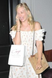 Beth Behrs - Out for dinner at Craigs in West Hollywood