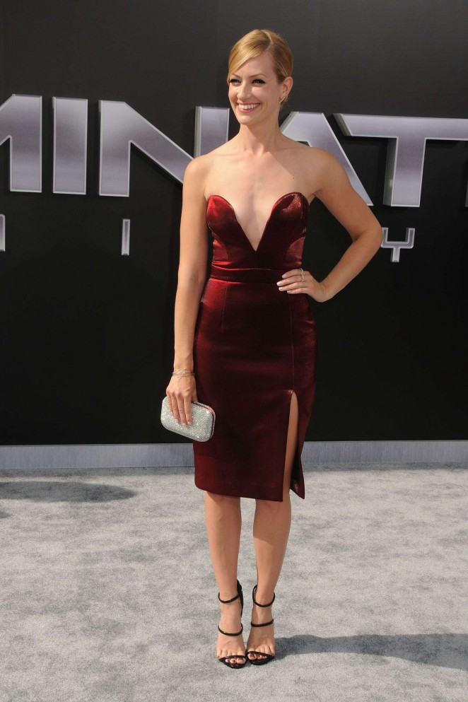 Beth Behrs - 'Terminator Genisys' Premiere in Hollywood