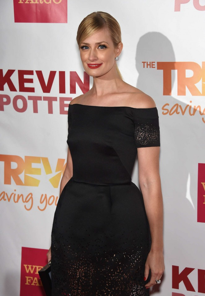 Beth Behrs - TrevorLIVE Event 2015 in New York