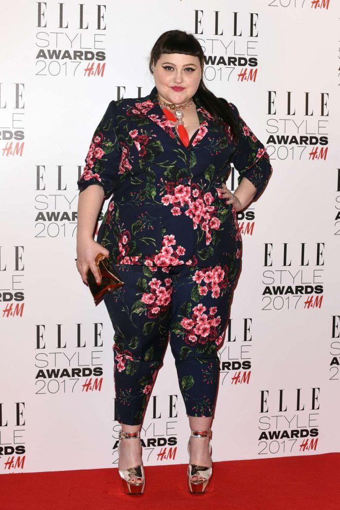Beth Ditto - 2017 Elle Style Awards in London