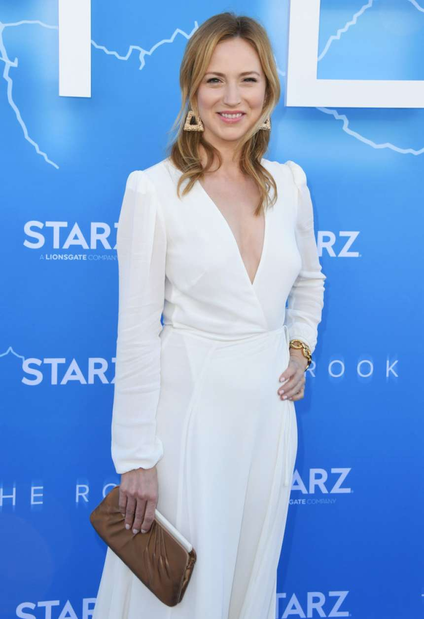 Beth Riesgraf - 'The Rook' Premiere in Los Angeles