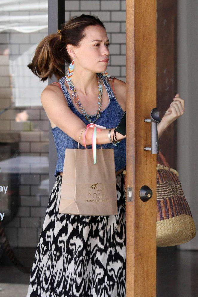 Bethany Joy Lenz out in Studio City