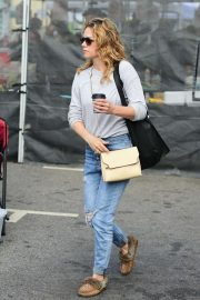 Bethany Joy Lenz - Shopping at Farmer's Market in Studio City