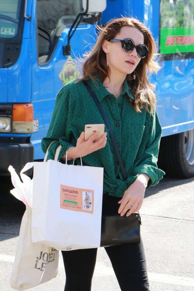 Bethany Joy Lenz - Shopping at Farmers Market in Studio City