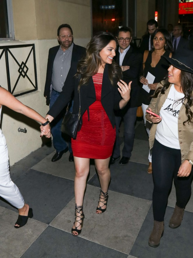 Bethany Mota at the Roosevelt Hotel in Los Angeles