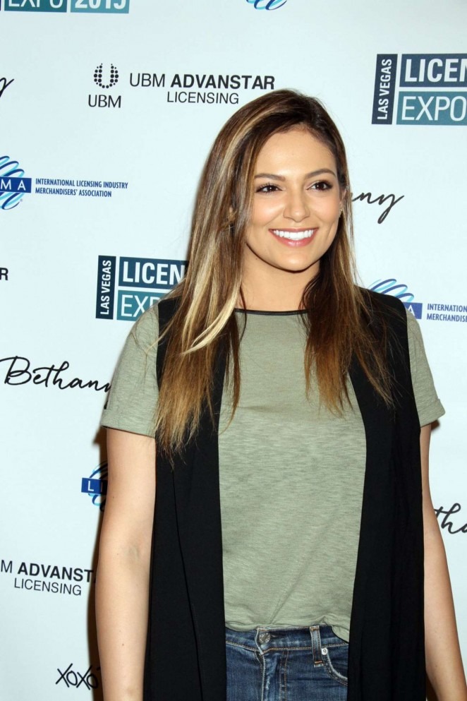 Bethany Mota - Licensing Expo 2015 Day 1 in Las Vegas