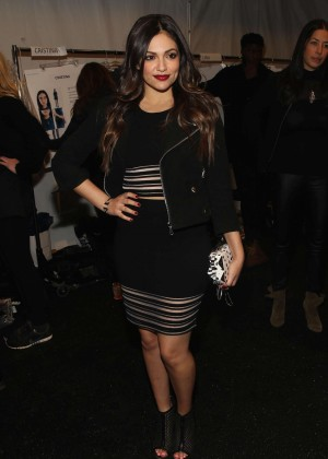 Bethany Mota - Rebecca Minkoff Fashion Show 2015 in NY