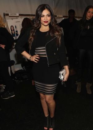 Bethany Mota - Rebecca Minkoff Fashion Show 2015 in NY