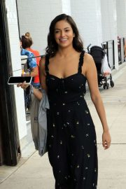 Bethany Mota - Shopping candids at Farmer's Market in Studio City