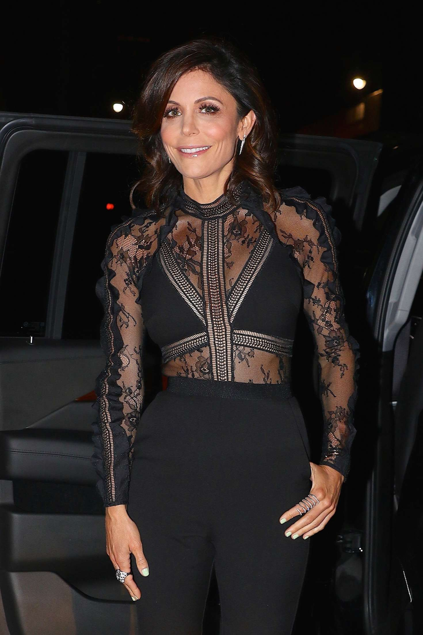 Bethenny Frankel Arrives at 'Watch What Happens Live' in NYC