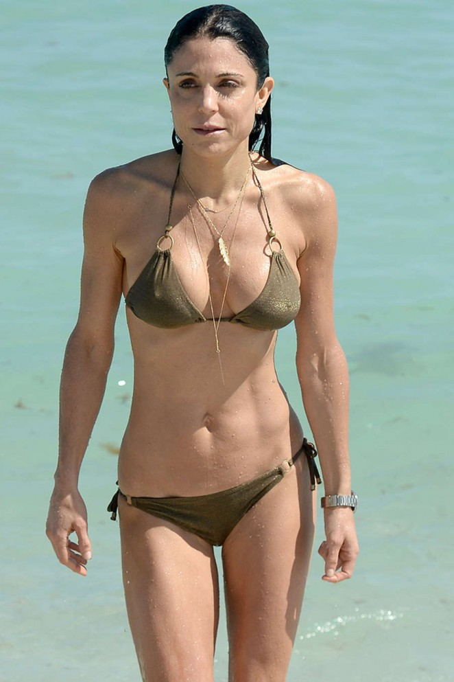 Bethenny Frankel in Bikini on Miami Beach